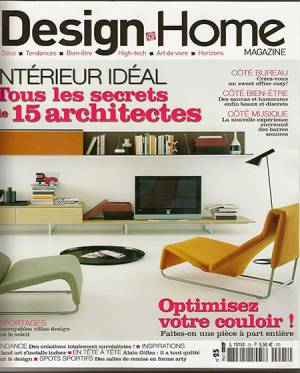 DESIGN HOME Août-Septembre 2009